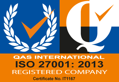ISO 27001:2013 Certificate number IT1167
